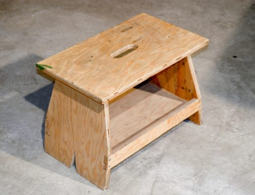 Garage Work Stool